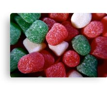 Christmas Spice Drops Candy Canvas Print