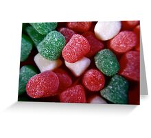 Christmas Spice Drops Candy Greeting Card