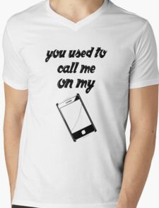 You Used To Call Me Mens V-Neck T-Shirt