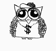 Gangster Owl Unisex T-Shirt