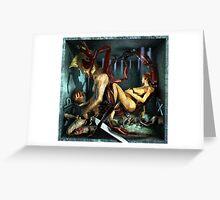 Ecce Homo 128 - THE ZODIAC - SCORPIO Greeting Card