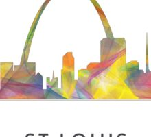 St Louis, Missouri Skyline WB1 Sticker