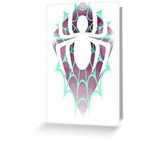 Spider Gwen Design Greeting Card