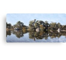 Along the lazy river... Canvas Print
