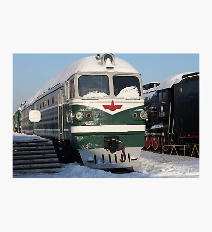 Diesel  locomotive Photographic Print