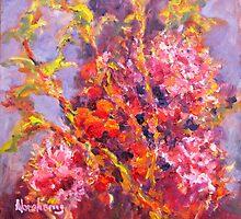 Myrtle Australian Wild Flower by Bob Abrahams