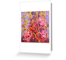 Myrtle Australian Wild Flower Greeting Card