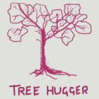 TREE HUGGER Leaves  PINK   TEE SHIRT/KIDS TEE/BABY GROW by Shoshonan