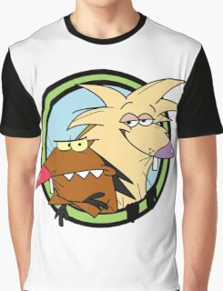 Angry Beaver Graphic T-Shirt