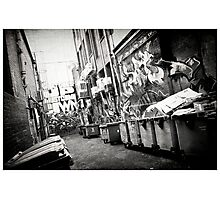 Graph Lane Photographic Print