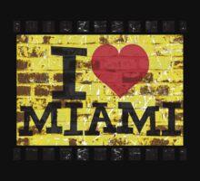 I love Miami - Vintage Miami Kids Clothes