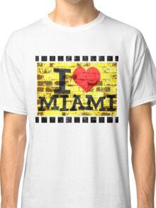 I love Miami - Vintage Miami Classic T-Shirt