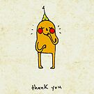 a shy thank you by Cat Bruce