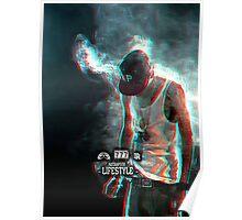 Smoking Rapper Poster