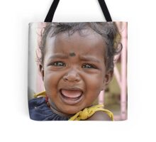 baby crying Tote Bag