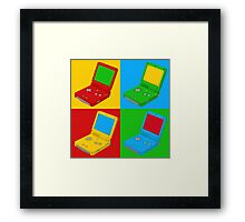 Game Boy Pop Art Framed Print