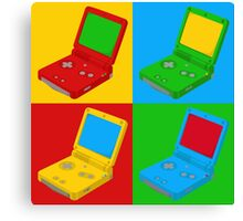 Game Boy Pop Art Canvas Print