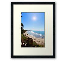 Swami's Beach, Encinitas, CA Framed Print