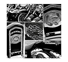 Harley Davidson Collage by Dale Rockell
