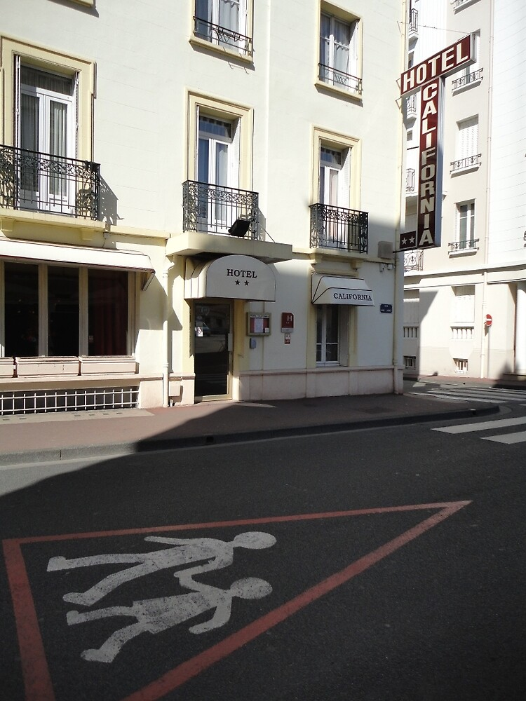 Hotel California, Vichy, France, Europe 2012 by muz2142