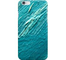 blu oil texture cases iPhone Case/Skin