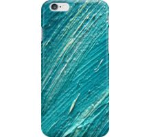 texture blu oil iPhone Case/Skin