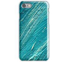 texture blu oil iPhone Case/Skin