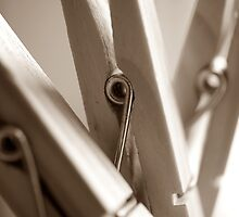 Three Little Pegs by KAGPhotography