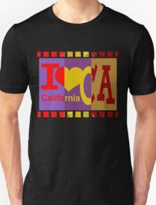 I love California - Pop Art T-Shirt