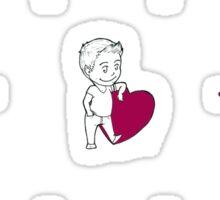Teen Wolf Love Connection Sticker