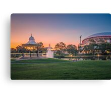 Adelaide Sunset Canvas Print