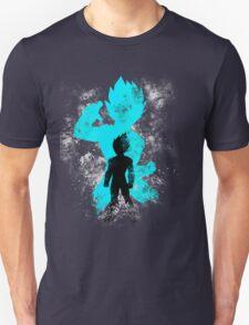 super saiyan blue vegeta grunge Unisex T-Shirt