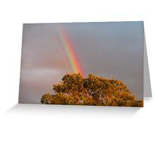 Monday Rainbow Greeting Card