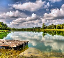 On Strickland Pond (HDR) by Jeff Ore