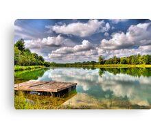On Strickland Pond (HDR) Canvas Print