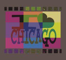 I love (heart) Chicago One Piece - Short Sleeve