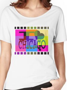 I love (heart) Chicago Women's Relaxed Fit T-Shirt