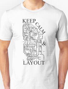 Keep Calm & Layout T-Shirt