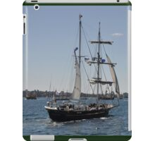 Tall Ships Departure, Fleet Review, Manly, Australia 2013 iPad Case/Skin