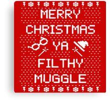 Potter Muggle Quotes Canvas Print