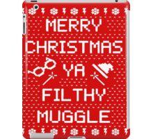 Potter Muggle Quotes iPad Case/Skin