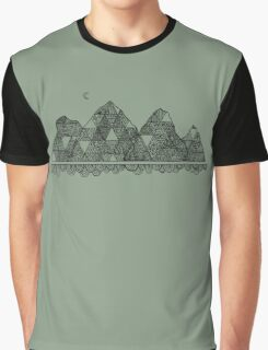 Mountain Moon Graphic T-Shirt