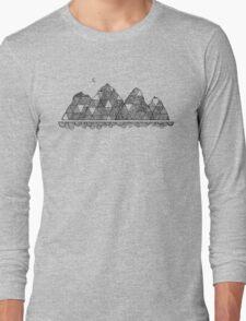 Mountain Moon Long Sleeve T-Shirt