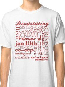 Discreetly Greek - Delta - Say it aint so! Classic T-Shirt