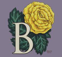B is for Begonia - full image Kids Tee