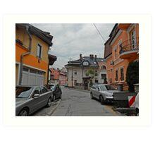 A street,Sarajevo. Art Print