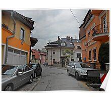 A street,Sarajevo. Poster
