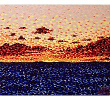 'Sunset at Sea'   Photographic Print