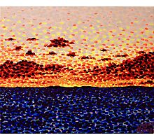 'Sunset at Sea'   Photographic Print