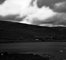 Ireland in Mono: Feels Just Like The Shapeless Oceans Cold by Denise Abé